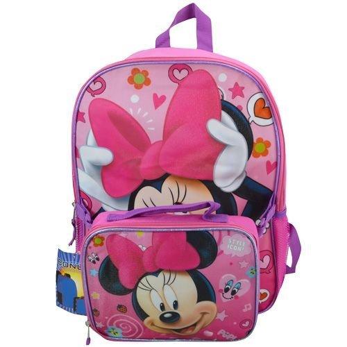 Minnie 16 Backpack Lunch Kit BWLUB