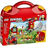 LEGO Juniors - Maletín de bomberos, multicolor (10685)