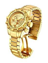 Invicta Women's 12461 Bolt Analog Swiss-Quartz Gold Watch