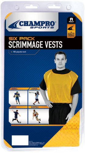 Champro Scrimmage Vests, Pack of 6