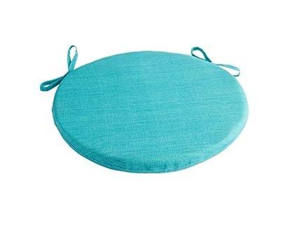 Amazon Com Solid Turquoise Indoor Outdoor 15 Bistro Round Chair