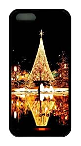 Christmas Nights TPU Black good iphone 5S case for Apple iPhone 5/5S