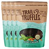 Trail Truffles – Paleo Plant Based Vegan Energy Bite Balls – Mint Creme, 4 packs Review