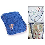 Itian Nautical Fishing net decoration Mediterranean style Shellfish nets Wall ornaments In Home Or Bar