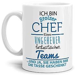 Tasse mit Spruch Chef – Kaffeetasse/Mug/Cup – Qualität Made in Germany