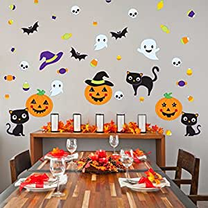 Chromantics Pumpkin Party Wall Decal Kit - Halloween Wall Decal by