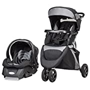 Evenflo SensorSafe Epic Travel System, Jet Black