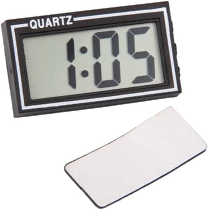 VOSAREA Reloj Digital del Tablero de Instrumentos del Coche LCD Calendario electrónico de la Mesa