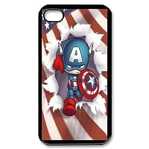 iPhone 4,4S Phone Case Captain America K18917