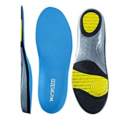 WERNIES sport insoles WERNIES Sneaker Inserts are designed to offer high-performance cushioning and comfort for all sports and athletic shoes. All styles have been engineered to offer improved moisture transport for a drier, less abrasive foo...
