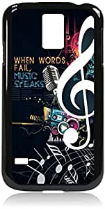 """Nice Saying - """"When Words Fail, Music Speaks."""