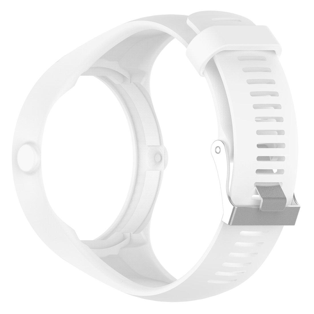 Lokeke Polar M200 - Correa de repuesto de silicona para reloj GPS para correr