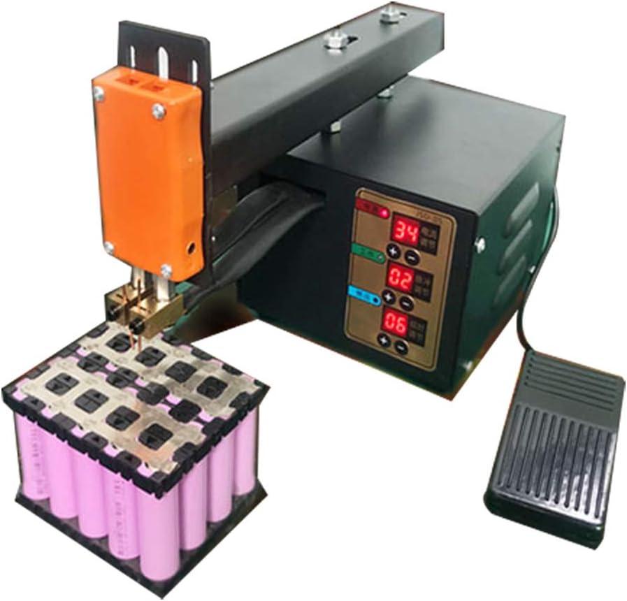 HanchenEquipo de Soldadura Máquina de Soldar 3kw Soldadora Soldador Eléctrico Spot Welder Battery Pack Pulse Welding Machine Mini para 18650 Batería