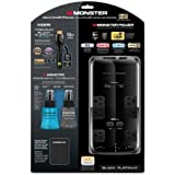 Monster Cable Complete UltraHD TV Solution - with Power Black Platinum 600 Surge Protector and 12' Premium Black Platinum HDMI Cable, Includes Powerline Ethernet Adapter and Screen Clean Fluid