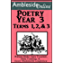 AmblesideOnline Poetry, Year 3, Terms 1-3