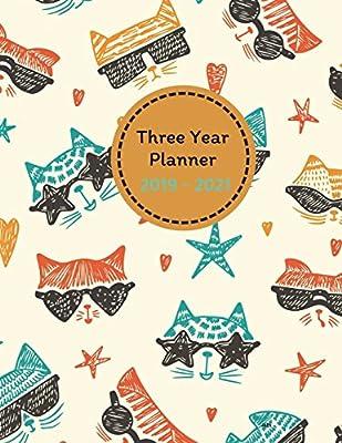 Three Year Planner 2019 - 2021 Alta: 2019-2021 Monthly Schedule
