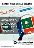 Advanced Microsoft Excel 2016 Training [Online Code]