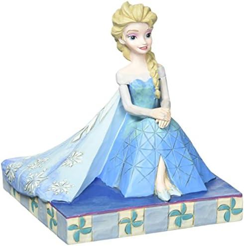 Jim Shore Disney Frozen Be Yourself Elsa Personality Pose Figurine 4050406 New