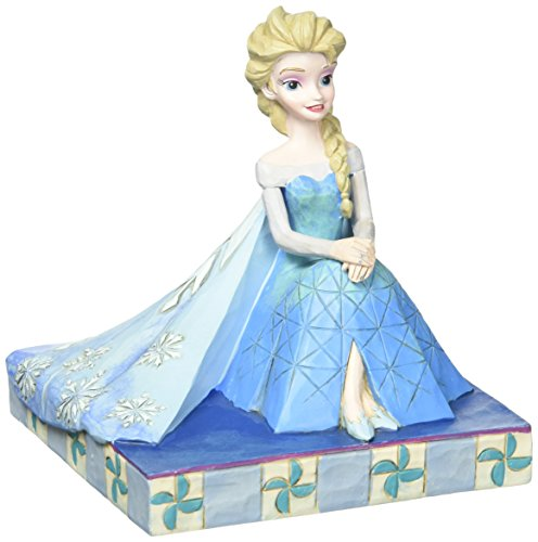 Jim Shore Disney Frozen Be Yourself Elsa Personality Pose Figurine 4050406 New by Jim Shore