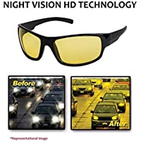 NuVew UV Protected Non-polarized Rectangular Unisex Plastic Sunglass for Driving (NW-RX861-23-YLW543, 70, Yellow)