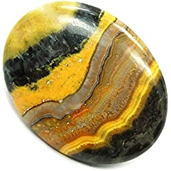 Bumble Bee Jasper Cabochon (1 - 1-1/2) Free Form - 1pc. by Healing Crystals