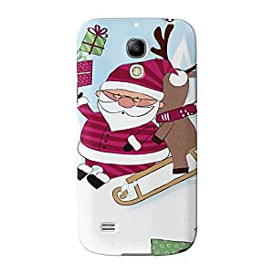 Papá Noel completa 3d de alta calidad Printed Case, funda carcasa para Samsung Galaxy S4Mini de Gadget Glamour