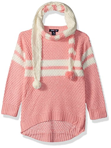 Limited Too Little Girls' Pullover Sweater (More Styles Available), Peach, 6X
