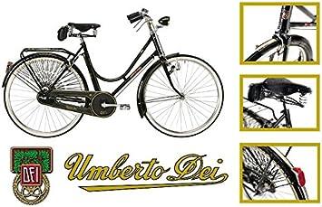 Umberto dei Imperial Mujer – Bicicleta bicicleta Vintage Retro freno ...