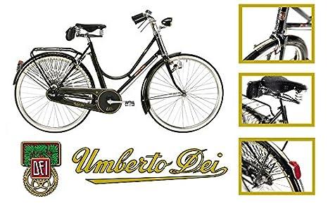 Umberto dei Imperial Mujer - Bicicleta bicicleta Vintage Retro ...