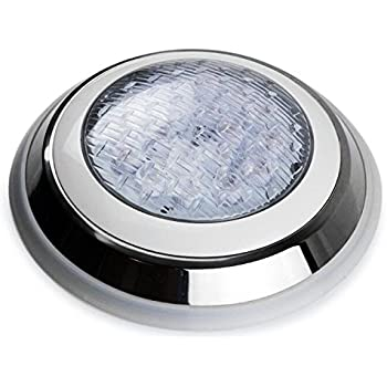 Led Swimming Pool Light Underwater Spa 45w Ip68 Rgb 7 Colors Mounted Flat Surface