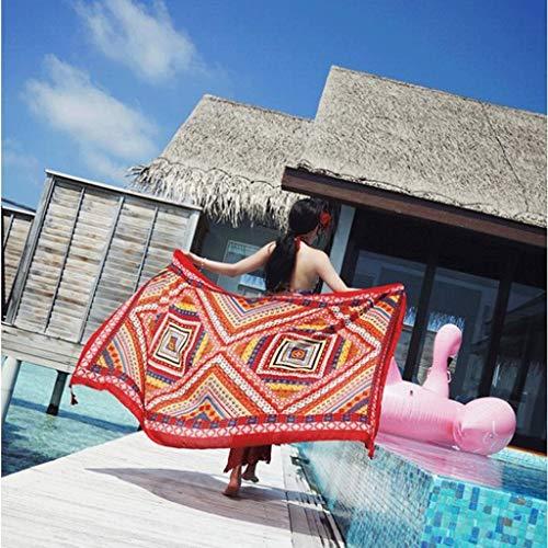 In Seta E Donna La Sciarpa Spiaggia Da Gxy Femminile Asciugamano Frangivento Lino Per Con Cotone q7RvxtnwO