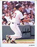 Lou Merloni Autographed /Original Signed 8x10 Photo Showing Him w/ the Boston Red Sox