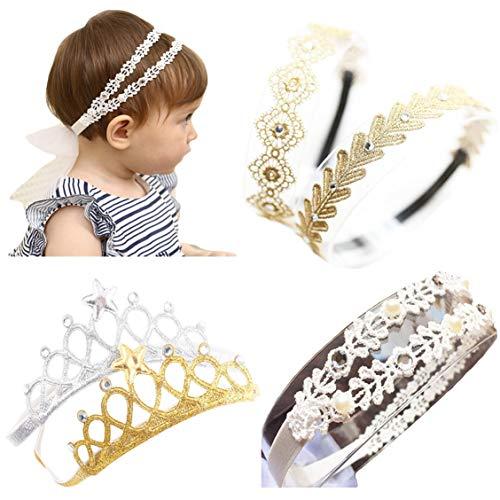 Baby Girl Headbands Toddler Princess Hairband Headwrap Children Hair Accessories Crown]()