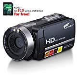 Hausbell HDBV-301 Full HD Digital Video Camera Camcorder 1920 X 1080P with 3.0