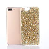 For IPhone 7 Plus Case Sinfu Bling Bling Shockproof Soft Silicone Protective Case Cover (B)