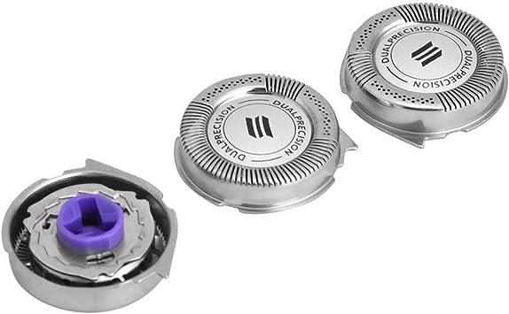 Sistema de Cuchillas de Repuesto para los Cabezales de Afeitado de 3 Piezas para Las Afeitadoras PTQ de Norelco HQ7890 HQ8445 HQ8845 de Philips: Amazon.es: Salud y cuidado personal
