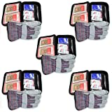 Emergency Zone Basic Roadside Assistant Car Emergency Kit. 5 Pack