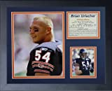 Legends Never Die Brian Urlacher Portrait Framed Photo Collage, 11x14-Inch