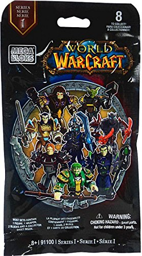Mega Bloks World of Warcraft Series 1 Figures Blind Pack, 24PCs/Display Box