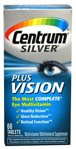 Centrum Silver Plus Vision, 60 Tablets