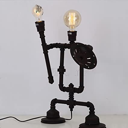Amazon Com Jhtd Desk Lamp Loft Diy Industrial Wind Retro