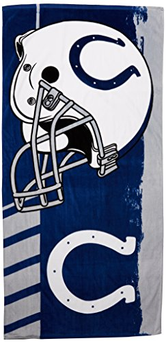 NFL Indianapolis Colts Game Plan Beach Towel, 34