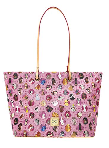 Disney Dogs Tote Bag by Dooney & Bourke, Pink, Large