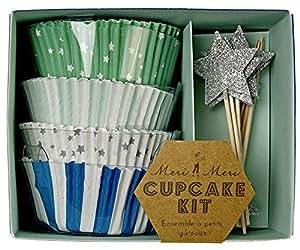 Meri Meri Cupcake Kits, Toot Sweet Blue