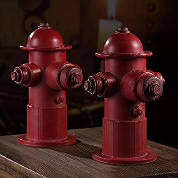 Amazon.de: GFEI die alten vintage - harz hydrant cafe / bar ...