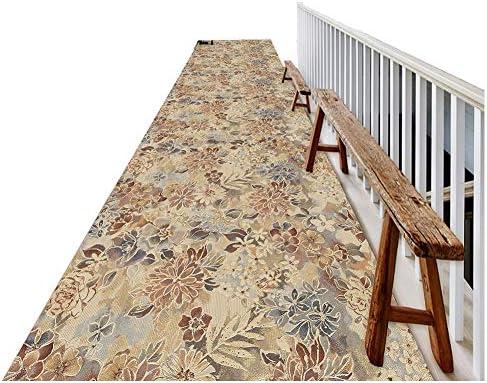 ZEMIN-Alfombras del Pasillo A Prueba De Polvo Moqueta Larga Textura Mat Área Escalera, Multi-tamaño Personalizable (Color : B, Size : 1.1x4m): Amazon.es: Hogar