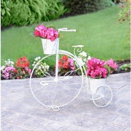 Macetero Grande en bicicleta de aspecto hermoso: Amazon.es: Hogar