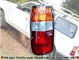 Toyota Land Cruiser Landcruiser Fj82 Fj80 Rear Tail Light Lamp Left Side LHS