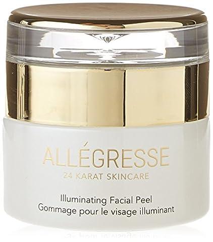 ALLEGRESSE 24K Gold Illuminating Facial Peel (Beauty Renew Illuminating)