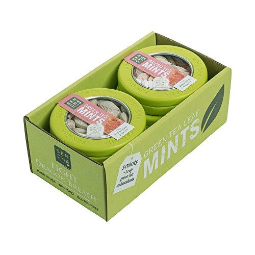 - SENCHA NATURALS Green Tea Mints, Pink Dragonfruit, 2 Count